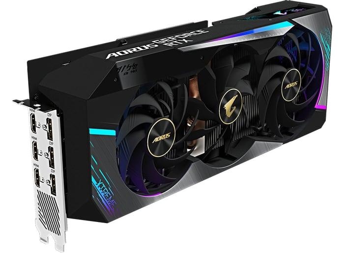 Gigabyte RTX 3080 Ti Aorus Master GPU