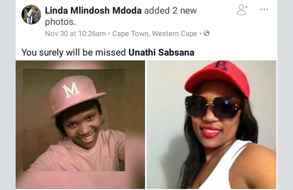 Photos: Man who shot dead his girlfriend in front of her family in South Africa hands himself over to police