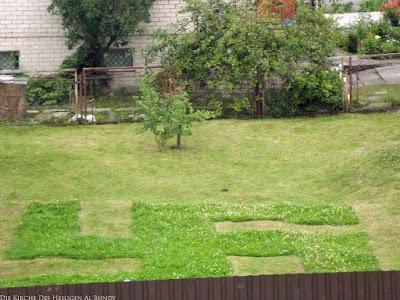 Nachbar Rasen mähen lustige Bilder