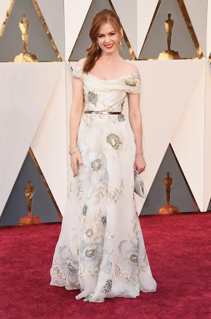 Isla Fisher Oscar 2016 vestidos famosas
