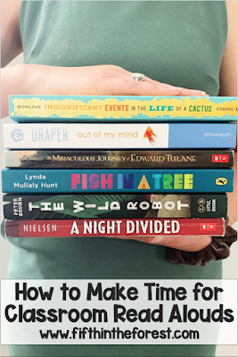 Pin image for How to Make Time for Classroom Read Alouds