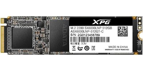 XPG SX6000 Lite 512 GB