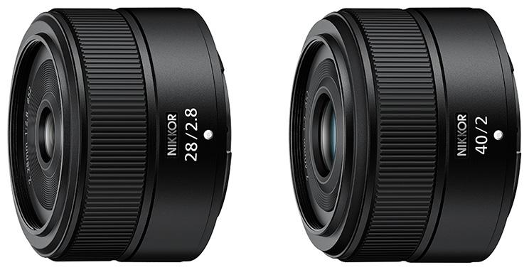 Два объектива Nikkor Z