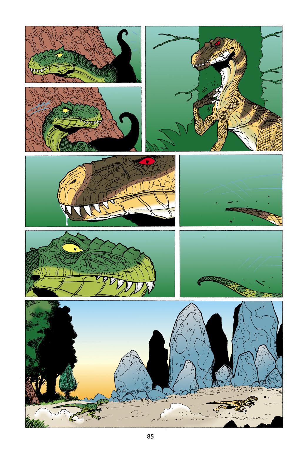 Age of Reptiles Omnibus Chap 3 - Next Chap 4