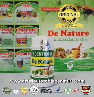 Kapsul Herbal Centilos De Nature Indonesia