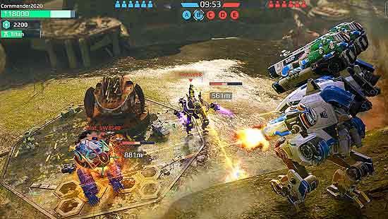 War Robots Mod Apk Unlimited v6.8.1