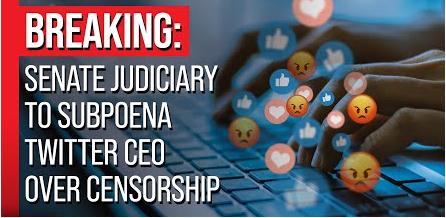 Twitter CEO Jack Dorsey subpoena