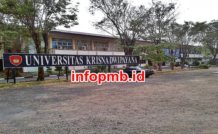 Jadwal Penerimaan Mahasiswa Baru (UNKRIS) Universitas Krisnadwipayana