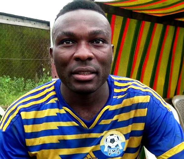 """Grégoire Nkama (Attaquant UMS) : """"L'essentiel c'est que l'équipe gagne """""""