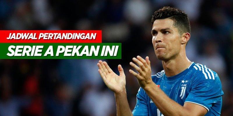 Jadwal Serie A Pekan Ini, Ada Juventus vs Napoli dan Derby della Capitale