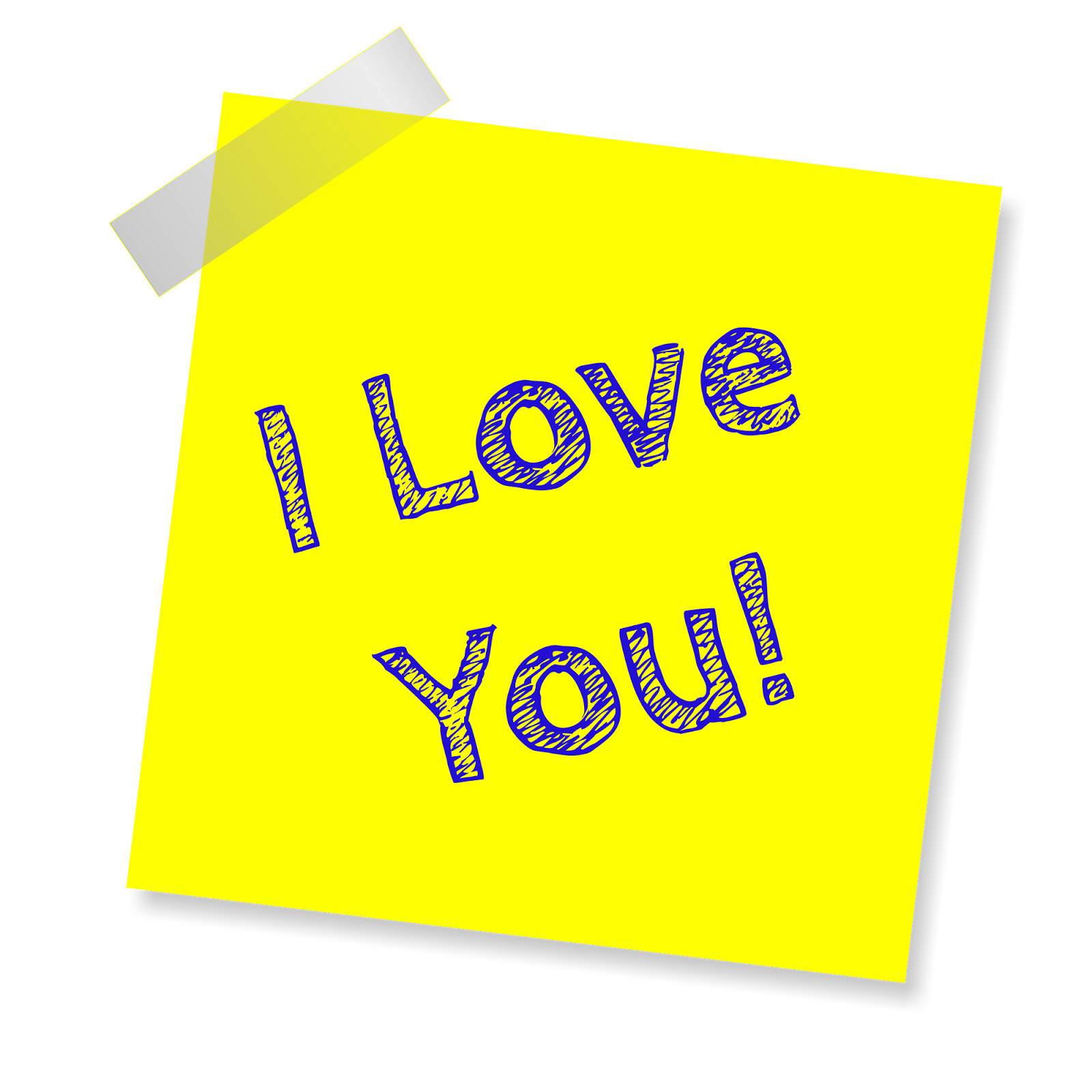 Sticker I Love You