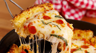 PIZZA WITHOUT OVEN RECIPE IN ENGLISH