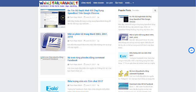 Share Tamplate Blogger Đẹp