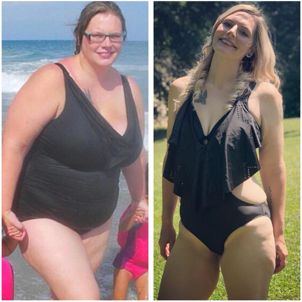 Amazing effort !! Weight loss in natural