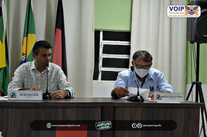 Vereadores Amparenses reuniram-se para mais uma sessão parlamentar