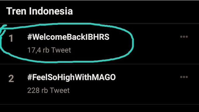 Habib Rizieq Shihab Jadi Pulang, <i>#WelcomeBackIBHRS</i> Menggema
