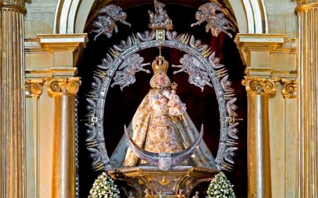 Imagen de la Virgen del MilagroIllescas. IMAGEN COMUNICACION ILLESCAS