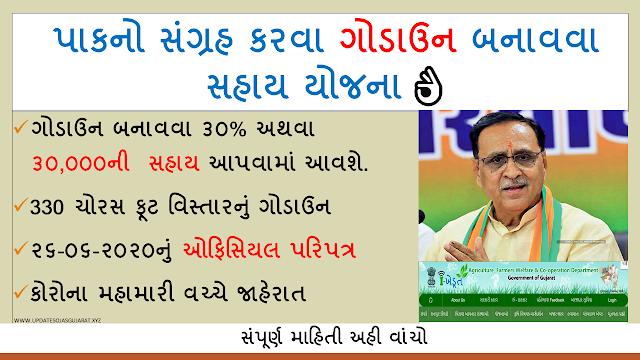 Khedut godown sahay yojana apply online official paripatra || ikhedut.gujarat.gov.in ikhedut portal Gujarat