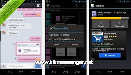 Descarga FileKicker gratis para tu teléfono móvil con Android.