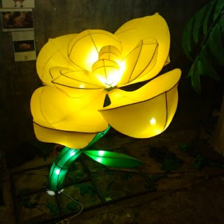 Lampion Mawar