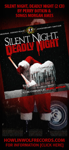 SILENT NIGHT, DEADLY NIGHT (2 CD) by Perry Botkin, songs Morgan Ames