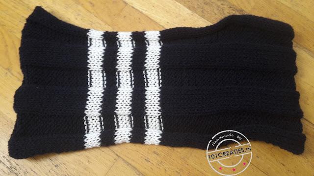 Warme shawl voor de winter breien