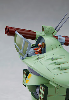 "Figuras: Imágenes de CB Armour, Cabarov AG-9 Nicholiev de ""Fang of the Sun Dougram"" - Max Factory"