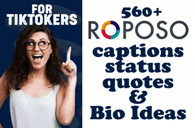 Roposo-captions-quotes-status-bios-ideas-for-tiktokers