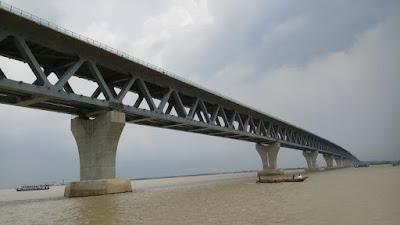 Beautiful Padma river bridge 2021