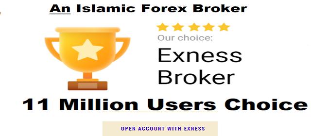 An Islamic forex broker -exness