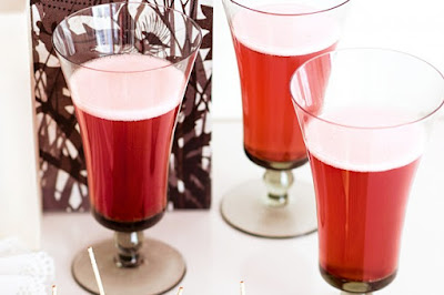 Pomegranate cocktails recipe