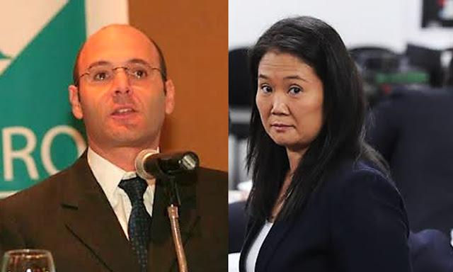 Dionisio Romero, Keiko Fujimori