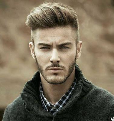 اجمل قصات شعر رجالى رائعة - احلى قصات شعر