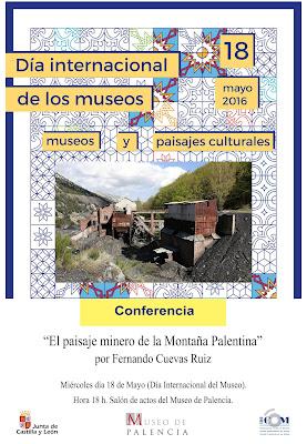 Conferencia sobre el paisaje minero en la montaña palentina 2016