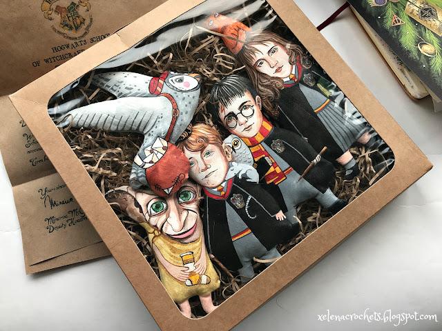 игрушки на елку по мотивам Гарри Поттера
