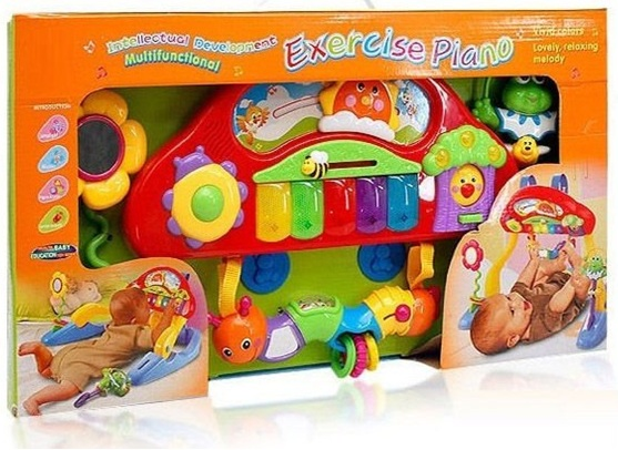 Bunyamin S Toy Co Multi Functional Exercise Keyboard And