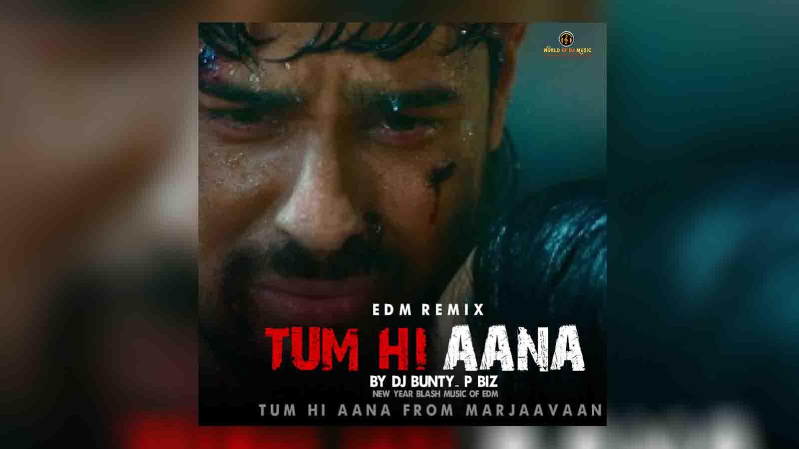 Tum Hi Aana (EDM Mix) DJ Bunty - P Biz