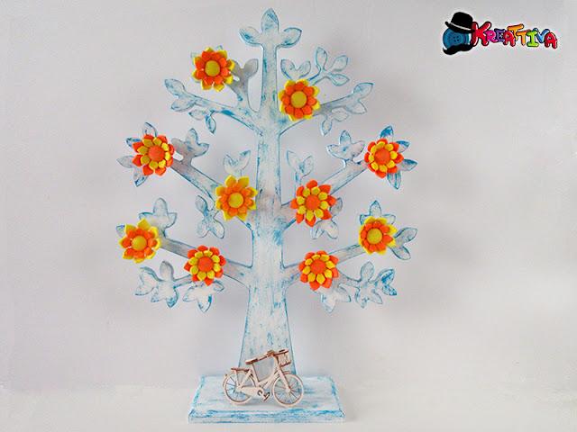 albero della vita in legno