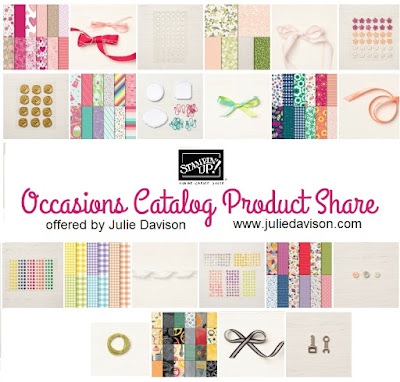 Stampin' Up!  2019 Occasions Catalog Product Share -- Try Everything for only $35.85 -- USA Only -- Offered by Julie Davison, www.juliedavison.com