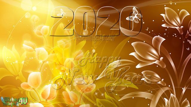 Happy New Year 2020 4k Golden Background Download Free - New Year 2019 4K ultra HD Golden Background Download For desktop