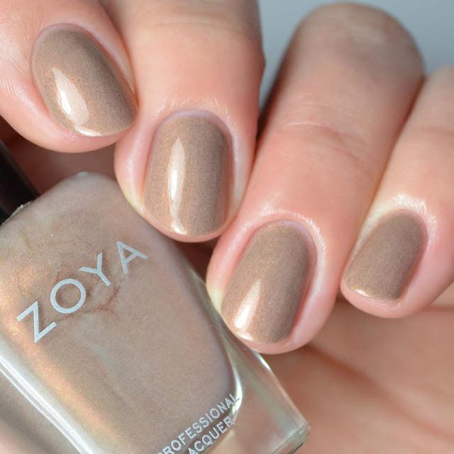 taupe shimmer nail polish