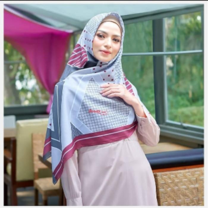 Jilbab Segi Empat Azzura Syari Motif Super Premium Harga Grosir & Ecer