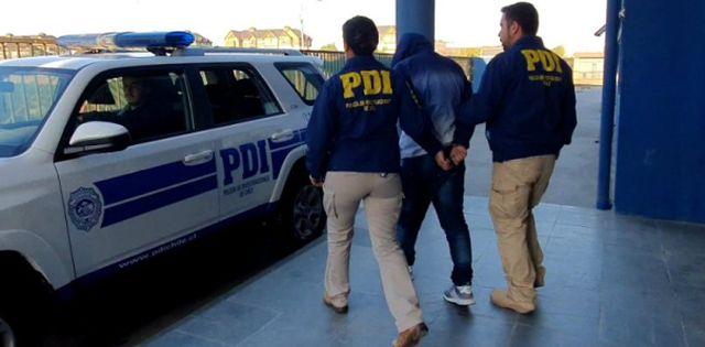 Detención de la PDI
