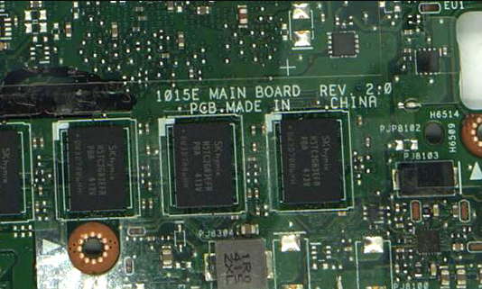 1015E MAIN BOARD REV 2.0 ASUS 1015E Laptop Bios