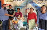 Bantuan Sembako MTB dan M16 Sasar Kaum Miskin di Lingkungan Kota Mataram