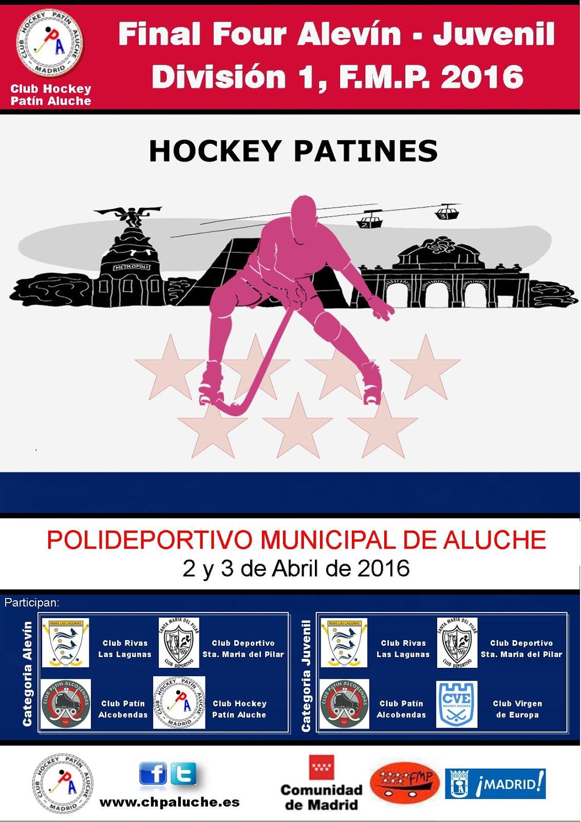 Club hockey pat n aluche organiza la final de la copa for Pistas de patinaje sobre ruedas en madrid