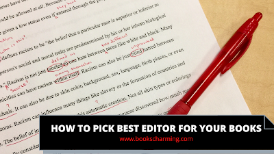 Find the best editors for your book