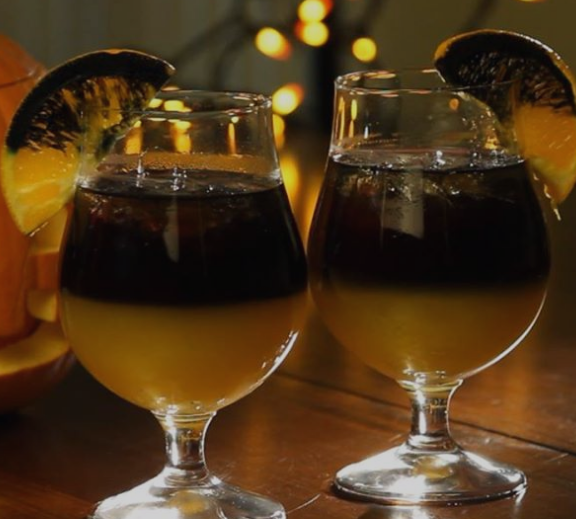 Cast a Spell with This Black Magic Cocktail #cocktail #drink #magis #sangria #party