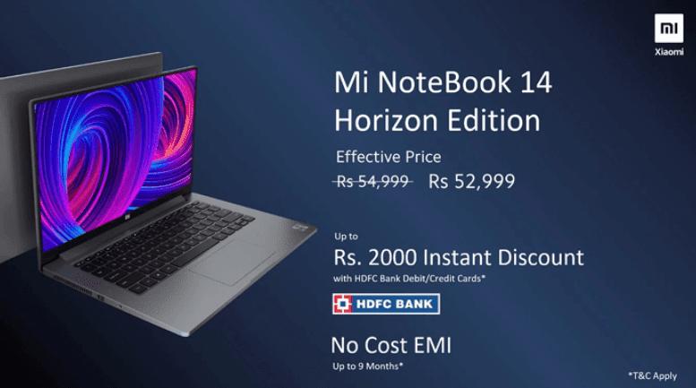 Mi Notebook 14 Horizon Edition Released