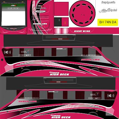 Livery Bus Simulator Indonesia Terbaru